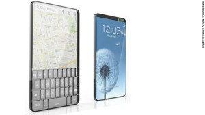 Korean designer Seunggi Baek's Bubble Phone gives users the best of two worlds. It has a full-length touchscreen on one side and a raised bubble keypad on the reverse. The screen is transparent so users can flip the phone and use it whichever way they want.