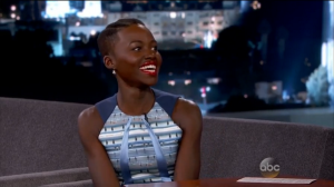 "Lupita Nyong'o: ""I'm Now More Famous than My Father"" on Jimmy Kimmel Live"
